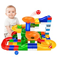 tanie Gry i zabawki-Marble Run Race Construction Zestawy do konstrukcji torów Tory dla kulek STEAM Toy Kreatywne Interakcja rodziców i dzieci Męskie Unisex Dla chłopców Dla dziewczynek Zabawki Prezent 104 pcs
