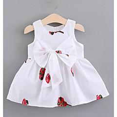 billige Babytøj-Baby Pige Blomstret Uden ærmer Kjole