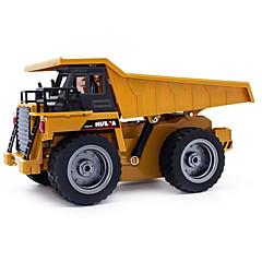 baratos Carros Controle Remoto-Carro com CR 540 6 Canais 2.4G Veiculo de Construção 1:64 10 km/h KM / H