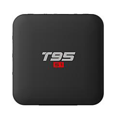 billige TV-bokser-PULIERDE T95S1 Tv Boks Android 7.1 Tv Boks Amlogic S905W 1GB RAM 8GB ROM Kvadro-Kjerne Nytt Design