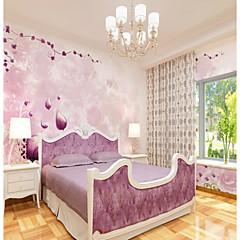 billige Tapet-egendefinert 3d veggmaleri bakgrunnsbilde rosa blomst illustrasjon egnet for restaurant bakgrunn veggen dekker 448 × 280cm