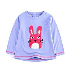 baratos Roupas de Meninos-Infantil / Bébé Para Meninos Estampado Manga Longa Camiseta