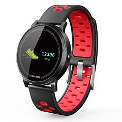 tanie Inteligentne zegarki-Inteligentny zegarek NO.1 F4S na Android iOS Bluetooth Wodoodporny Pulsometry Pomiar ciśnienia krwi Ekran dotykowy Spalonych kalorii Stoper Krokomierz Powiadamianie o połączeniu telefonicznym