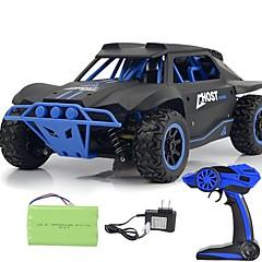 billige Fjernstyrte biler-Radiostyrt Bil 2.4G Off Road Car / Racerbil / Driftbil 1:18 Børste Elektrisk 25 km/h KM / H