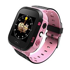billige Smartklokker-Smartklokke Y21 til Symbian / Android Kalorier brent / Lang Standby / Håndfri bruk / Pekeskjerm / Distanse måling Stopur / Samtalepåminnelse / Aktivitetsmonitor / Søvnmonitor / Stillesittende / 50-72