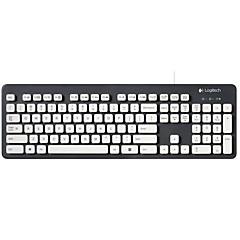 billiga Keyboards-Factory OEM K310 Kabel Keyboards 104 pcs Office Keyboard Spill-resistent USB Powered driven