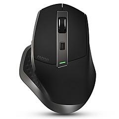 billiga Möss-Rapoo Trådlös Bluetooth / Trådlös 2.4G kontor Mus / laddnings mus Laser MT750 8 pcs nycklar 4 Justerbara DPI-nivåer 8 programmerbara tangenter 600/1200/1600/3200 dpi