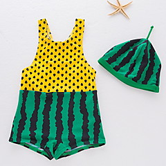 billige Badetøj til drenge-Baby Drenge Trykt mønster Uden ærmer Badetøj