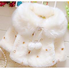 billige Babytøj-Baby Pige Basale Trykt mønster Langærmet dun- og bomuldsforet
