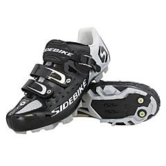 billige Sykkelsko-SIDEBIKE Voksne Mountain Bike-sko Karbonfiber Demping Sykling Rød / Grønn / Blå Herre