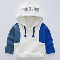 billige Hættetrøjer og sweatshirts til drenge-Børn Drenge Patchwork Langærmet Hættetrøje og sweatshirt