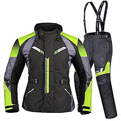 baratos Jaquetas de Motociclismo-DUHAN D-206 Roupa da motocicleta Conjunto de calças de jaquetaforHomens Tecido Oxford / Poliéster / Poliamida Todas as Estações Impermeável / Resistente ao Desgaste / Proteção