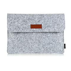 "billiga Laptop Bags-PU-läder / Polyuretan Läder / Faux Mocka / Ullfilt Enfärgad Ärmar Macbook / 13 ""bärbar dator"