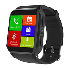 tanie Inteligentne zegarki-Inteligentny zegarek JSBP-KW06 na Android 3G Bluetooth Sport Wodoodporny Pulsometry Ekran dotykowy Spalonych kalorii Krokomierz Powiadamianie o połączeniu telefonicznym Rejestrator aktywności