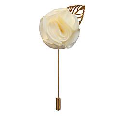 billige Motebrosjer-Herre Klassisk / Elegant Nåler - Blomst Europeisk, Romantikk Brosje Vin / Lys Rosa / Marineblå Til Bryllup / Fest