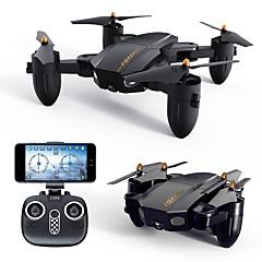 billige Fjernstyrte quadcoptere og multirotorer-RC Drone FQ777 FQ777-36 RTF 4 Kanaler 6 Akse 2.4G Med HD-kamera 720P 720P Fjernstyrt quadkopter FPV / En Tast For Retur / Sveve Fjernstyrt Quadkopter / Fjernkontroll / 1 USD-kabel