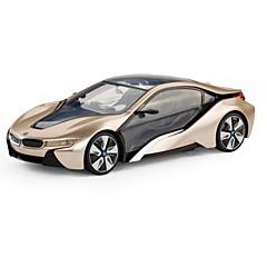 baratos Carros Controle Remoto-Carro com CR Rastar 49600-2 4CH Infravermelho Carro 1:14 8 km/h KM / H Luz LED / Controle Remoto