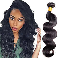 cheap Clearance-1 Bundle Body Wave Human Hair 10-20inch 100g Natural 1b Black Color Human Hair Extensions Human Hair Weaves