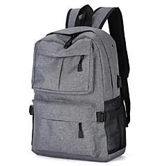 "tanie Torby na laptopa-Jeans Solidne kolory Plecaki 15"" Laptop"
