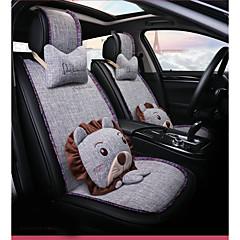 billige Setetrekk til bilen-ODEER Setetrekk til bilen Setetrekk Lysegrå tekstil Tegneserie / Vanlig Til Universell Alle år Alle Modeller