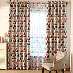 abordables Habillage de Fenêtres-Rideau Occultant Panneau Personnalisée Rouge / chambre d'enfants / Rideaux occultants rideaux