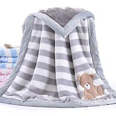 baratos Acessórios para Crianças-Bebê Unisexo Sólido Cobertor Azul / Rosa / Cinzento Tamanho Único