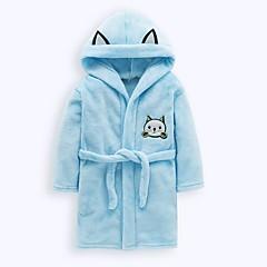 billige Undertøj og sokker til piger-Børn / Baby Pige Trykt mønster Polyester Nattøj Lyserød