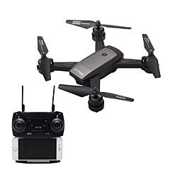 billige Fjernstyrte quadcoptere og multirotorer-RC Drone LH-X34F RTF 4 Kanaler 6 Akse 2.4G Med HD-kamera 2.0MP 720P Fjernstyrt quadkopter En Tast For Retur / Hodeløs Modus / Tilgang Real-Tid Videooptakelse Fjernstyrt Quadkopter / Fjernkontroll