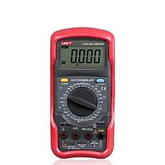 tanie Instrumenty elektryczne-Uni-t ut56 przenośny cyfrowy miernik rezystancji wieloparametrowej ac / dc amperomierz woltomierz meter rezystancyjny