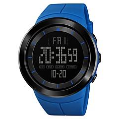 d71bad8289c baratos Relógio Estilo Militar-SKMEI Homens Relógio Esportivo Relógio  Militar Relogio digital Japanês Digital Couro