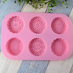 billige Bakeredskap-Bakeware verktøy Silikon Varmebestandig Kreativ Kjøkken Gadget For kjøkkenutstyr Dessertverktøy 1pc