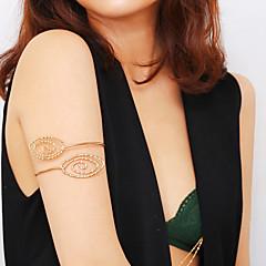 baratos Bijoux de Corps-Cadeia braço senhoras, Boêmio, Tropical, Fashion Mulheres Dourado / Prata Bijuteria de Corpo Para Bandagem / Bikini