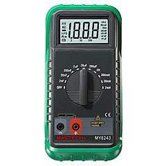 tanie Instrumenty elektryczne-Mastech my6243 cyfrowy c / l indukcyjności 2m / 20m / 200mh / 2h miernik pojemności 2nf-200uf