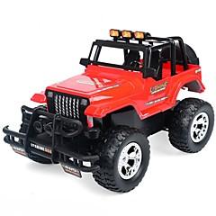 billige Fjernstyrte biler-Radiostyrt Bil 339-1 4 Kanaler 2.4G Buggy (Off- Road) 1:12 Børsteløs Elektrisk 10 km/h KM / H LED Lys / Fjernstyrt / Trådløs