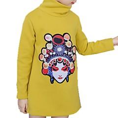 billige Hættetrøjer og sweatshirts til drenge-Børn / Baby Drenge Aktiv Daglig Trykt mønster Trykt mønster Langærmet Normal Bomuld Hættetrøje og sweatshirt Lyserød