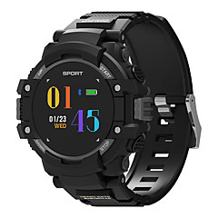 billige Smartklokker-F7 Smartklokke Android iOS 3G Bluetooth GPS Sport Vanntett Pulsmåler Blodtrykksmåling Stoppeklokke Pedometer Samtalepåminnelse Søvnmonitor Stillesittende sittende Påminnelse / Pekeskjerm / Compass