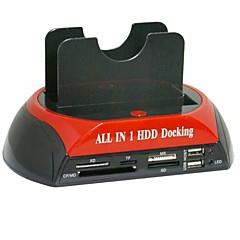 baratos Capas para Disco Rígido-Gabinete do disco rígido Fácil de transportar Plástico USB 2.0 875-j