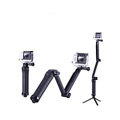 baratos Câmeras Esportivas & Acessórios GoPro-Telescopic Pole Dobrável Para Câmara de Acção Todos / Xiaomi Camera Campismo / Escursão / Espeleologismo / Sertão / Todo o tipo de Montanhas PVC - 1 pcs