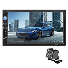 tanie Samochodowy odtwarzacz  DVD-swm 7010b 7-calowy ekran dotykowy 2-karatowego odtwarzacza samochodowego mp5 / sterowanie kierownicą / sd / usb wsparcie dla uniwersalnego / volvo / volkswagen rca / tv out / bluetooth wsparcie mpeg