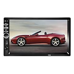 hesapli Araba Elektronikler-7018 7 inç 2 Din Windows CE 6.0 In-Dash DVD Oynatıcı için Uniwersalny / Evrensel Destek / Mp4 / TF Card