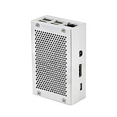 cheap -Raspberry Pi 3 Aluminum Case Metal Enclosure Box for RPI 3   60mm*90mm*30mm Silver Grey