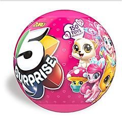 tanie Odstresowywacze-Smoki i dinozaury Zwierzę Lalka niespodzianka Święta Jednorożec Urodziny 5 w 1 Dziwne zabawki Edycja limitowana Miękki plastik 5 pcs Dla dzieci Dziecięce Unisex Zabawki Prezent