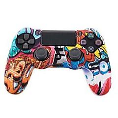 זול -TOYILUYA משחק בקר ערכות עבור Sony PS4 ,  יצירתי / צבע הדרגתי / מצחיק משחק בקר ערכות סיליקון 1 pcs יחידה