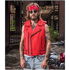 baratos Jaquetas de Motociclismo-HARLEY ANGEL 1501 Roupa da motocicleta Coletes para Homens Couro Primavera & Outono / Inverno Resistente ao Desgaste / Respirável