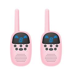billige Walkie-talkies-gocom® walkie talkie håndholdt overvåking / tastelås / time out timer> 10km 0,5 w toveis radiomodell go-100