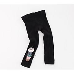billige Undertøj og sokker til piger-Baby Pige Vintage Ensfarvet Bomuld Undertøj og strømper Lyserød