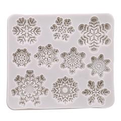 billige Bakeredskap-Bakeware verktøy Silikon Gummi / Silikon / Silikongel Smuk / 3D / Multifunktion Kake / Til Småkake / Sjokolade Rektangulær Cake Moulds 1pc