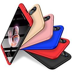 billige Telefoner og nettbrett-Etui Til Xiaomi Mi 6X / Xiaomi A2 Støtsikker / Matt Bakdeksel Ensfarget Hard PC til Xiaomi Mi 6X(Mi A2) / Xiaomi A2