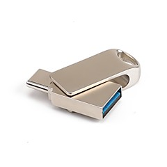 baratos Pen Drive USB-16GB unidade flash usb disco usb Tipo-C Metal Irregular Armazenamento Wireless