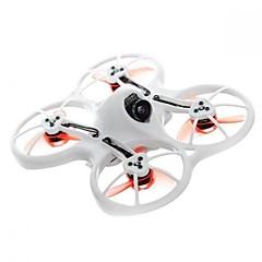 billige Fjernstyrte quadcoptere og multirotorer-RC Drone EMAX EMAX TINYHAWK 600TVL Camera Brushless Racing RC Drone - BNF - WHITE BNF 6 Akse 5.8G Med HD-kamera 600TVL Fjernstyrt quadkopter FPV Fjernstyrt Quadkopter / Kamera / 1 USD-kabel